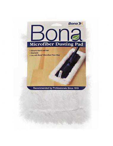 Pad Microfibre BLANC de POUSSIERE - BONA - 1