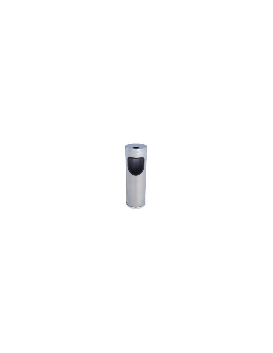 POUBELLE CENDRIER INOX JOFEL - 1