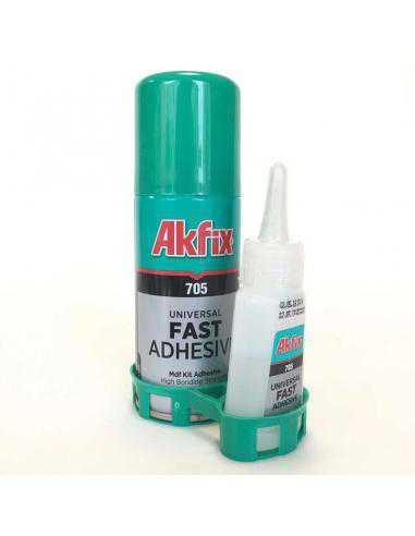 AKFIX 705 ADHESIF RAPIDE 100ML+GW 25G