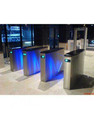Couloir rapide motorise centre (2 vantaux) - OZAK - 1