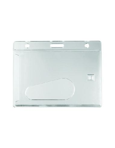 PORTE BADGE RIGIDE TRANSPARENT