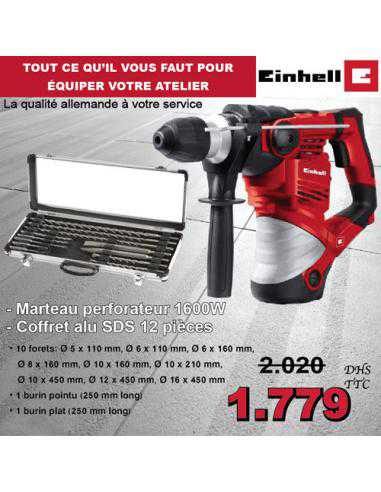 PACK EINHELL PERFORATEUR