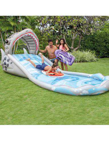 INTEX Gliss party requin + 2 body board