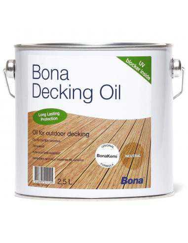 Bona Decking Oil Neutre 2,5L - 1