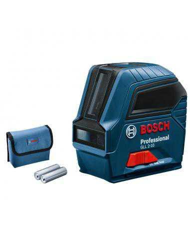pack Laser Lignes GLL 2-10 avec Télémètre laser GLM 120 C - Bosch Professional