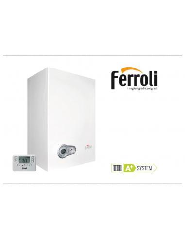 CHAUDIERE A GAZ MURAL A CONDENSATION FERROLI 24kw/34kw/60kw - 1