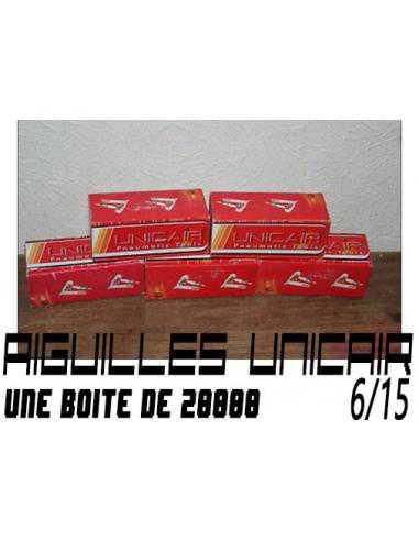 Aiguilles Unicair (Bte 20.000 pcs)