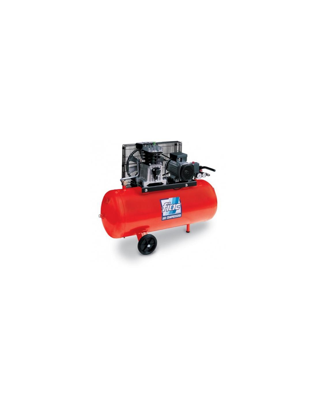 COMPRESSEUR AIR ELECTRIQUE 100L - 2.HP FIAC/MONDIAL