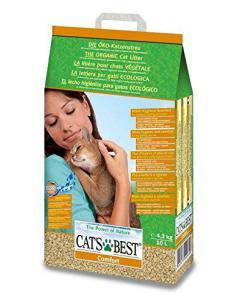 litière Comfort Absorbante 10L - CATS BEST - 1