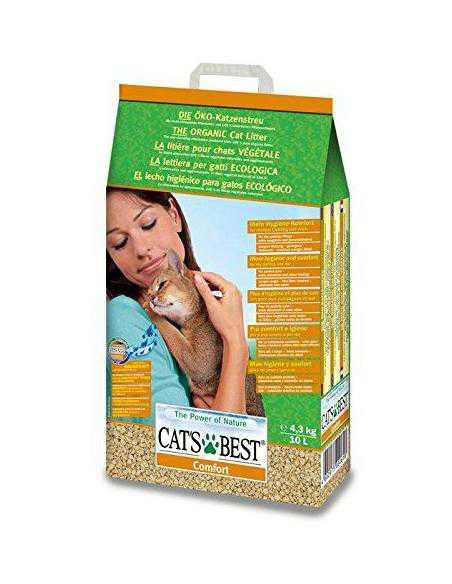 litière Comfort Absorbante 10L - CATS BEST