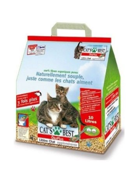 litière 10L OKO Plus - CATS BEST