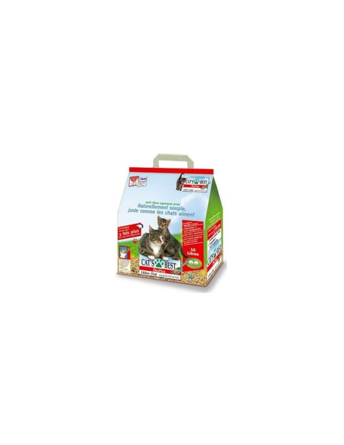 litière 10L OKO Plus - CATS BEST - 1