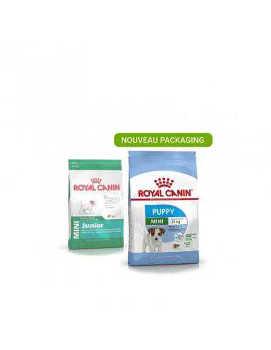 Croquettes Royal Canin CHIEN MINI PUPPY 2KG - 1