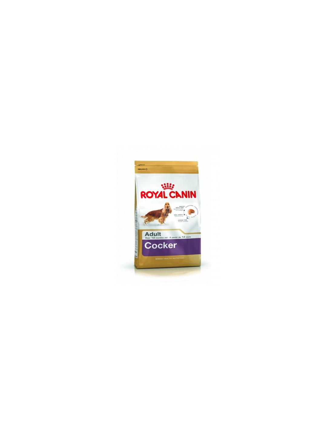 COCKER ADULT 3KG ROYAL CANIN - 1