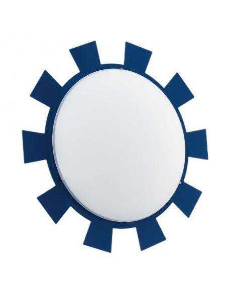LAMPE CL/1 E27 blue/white 'LEONIE' - EGLO