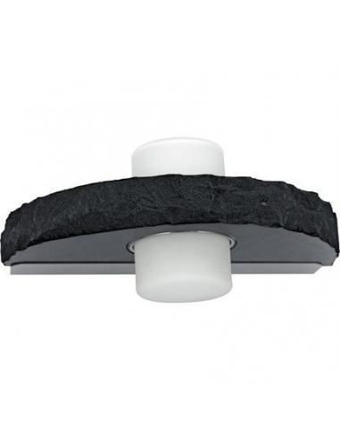 LAMPE WL/2 GX53 stainless-steel/black 'TROPEA' - EGLO - 1