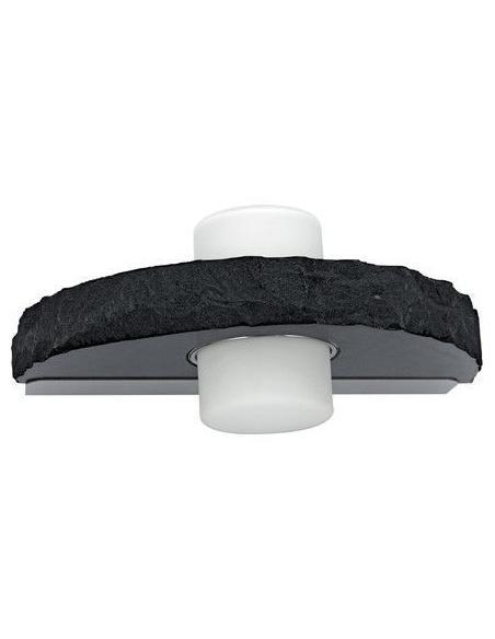 LAMPE WL/2 GX53 stainless-steel/black 'TROPEA' - EGLO
