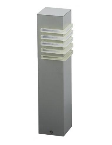 LAMPE FL/1 E27 small silver 'LUTON' - EGLO