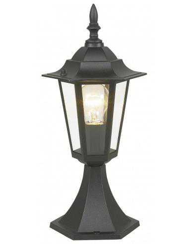 Lampe pedestal/1 black 'LATERNA 4' - EGLO