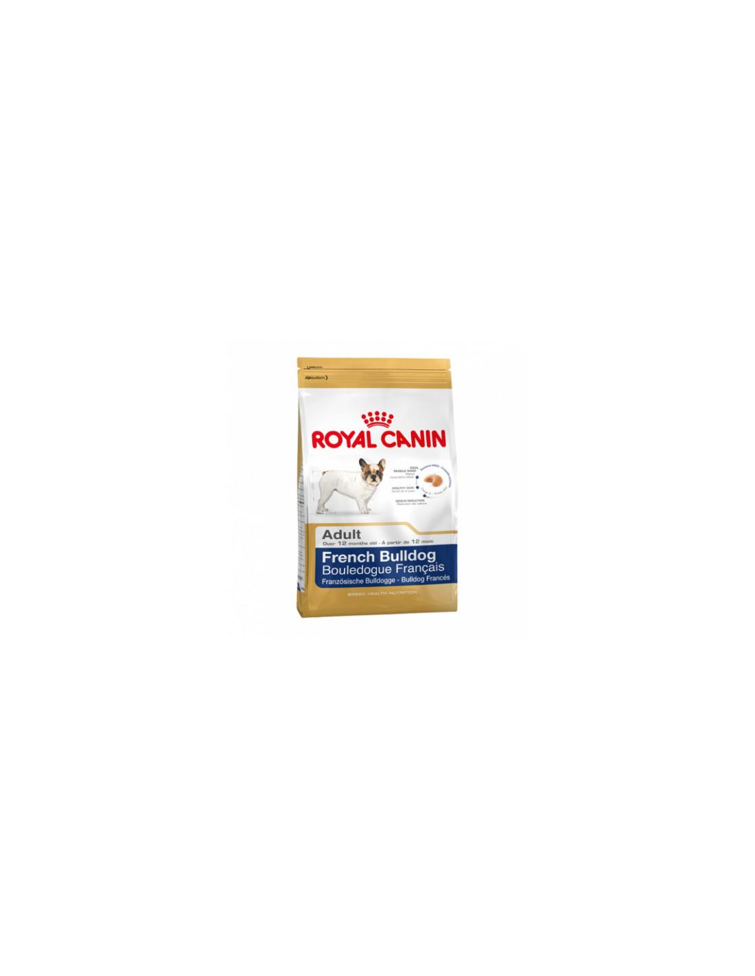 Croquettes FRENCH BULLDOG ADULT 3KG - ROYAL CANIN - 1