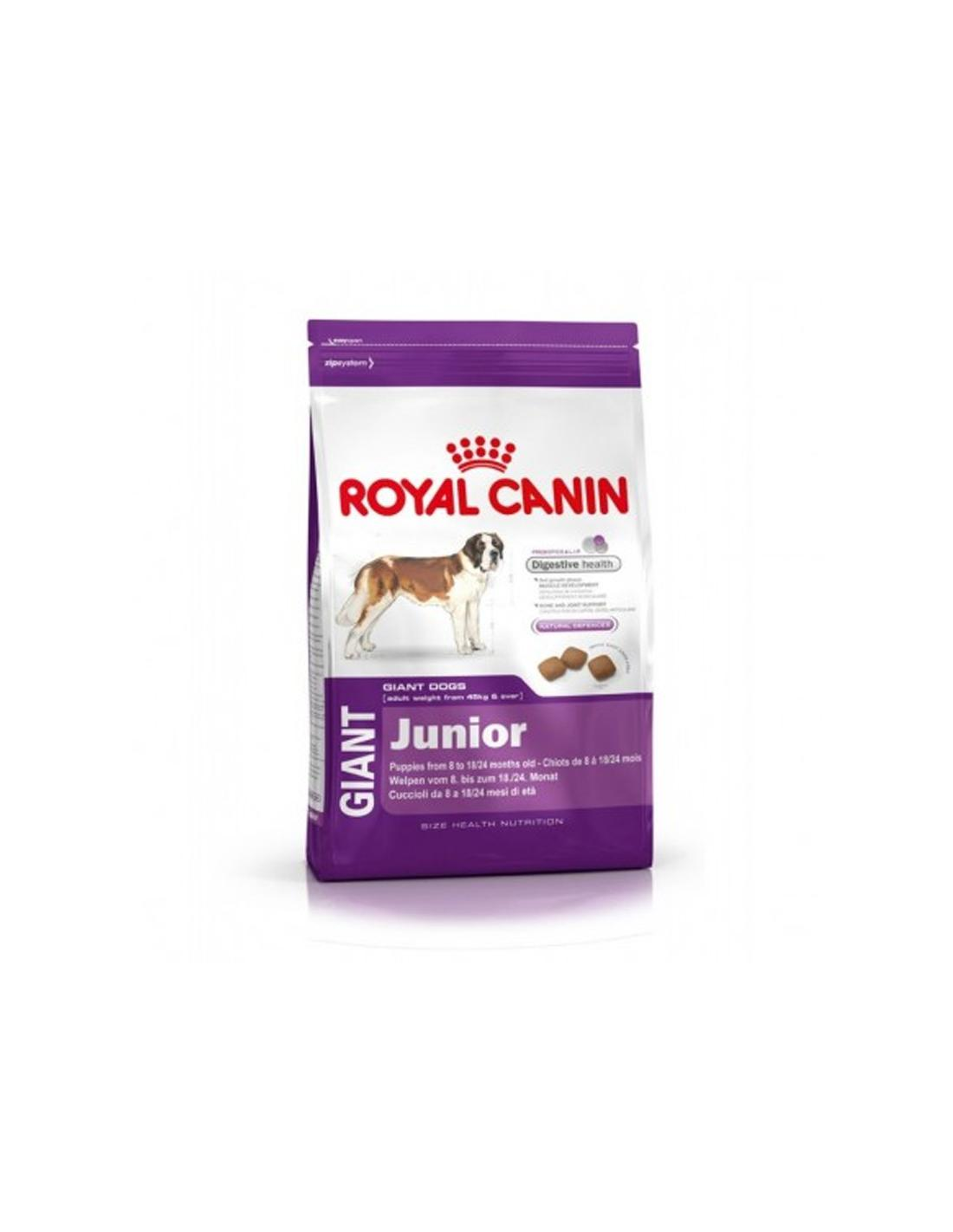 CROQUETTE ROYAL CANIN GIANT JUNIOR 15KG - 1