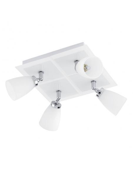 LAMPE 4-light G9 white/chrome 'KATORO' - EGLO - 1