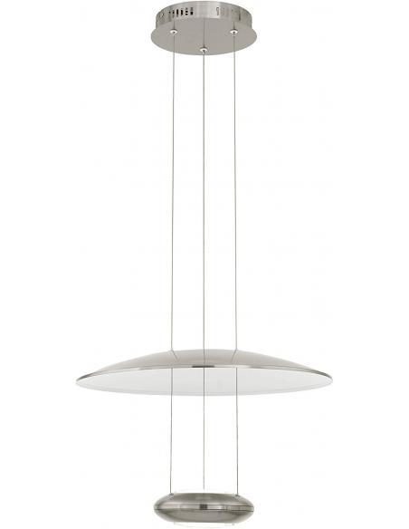 LAMPE LED-HL nickel-m./transparent 'LEMOS' - EGLO - 1