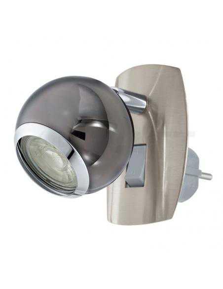 LAMPE STECKDOSENSPOT/1 N/N CHROM 'BIMEDA' - EGLO - 1