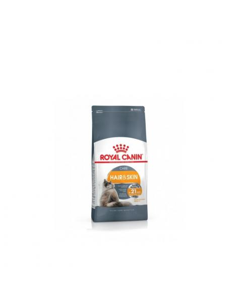 Aliment pour chat HAIR & SKIN 2KG - ROYAL CANIN