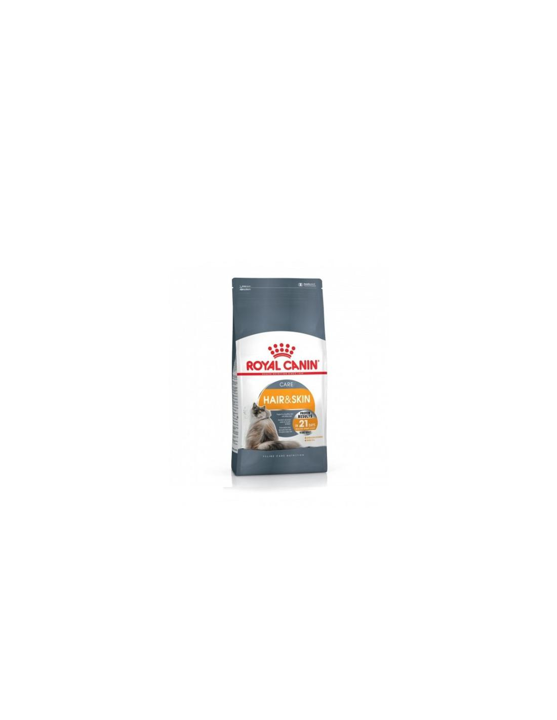 Aliment pour chat HAIR & SKIN 2KG - ROYAL CANIN - 1