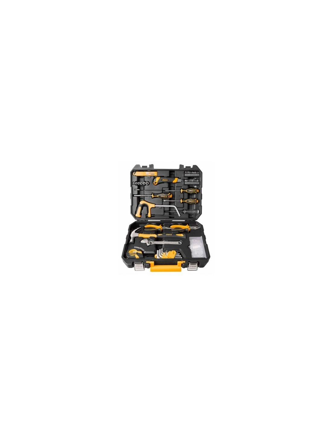 117 PCS TOOLS SET INGCO - 1