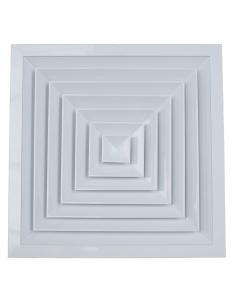 Diffuseur de plafond carré