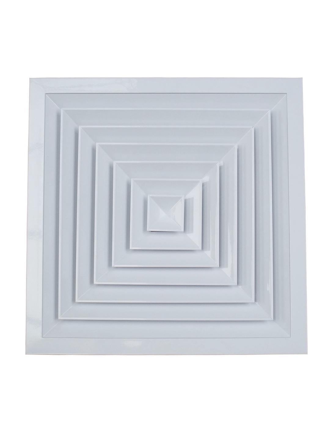 Diffuseur de plafond carré - 1