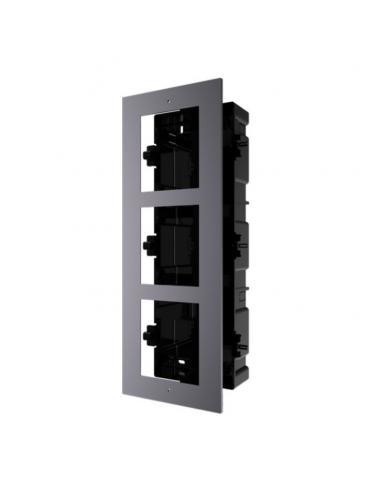 Accessoire de montage encastré pour poste de porte modulaire - 1