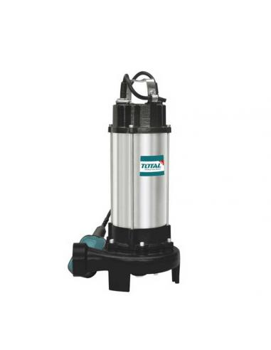 Pompe à eau d'égout submersible 750W - TOTAL - 1