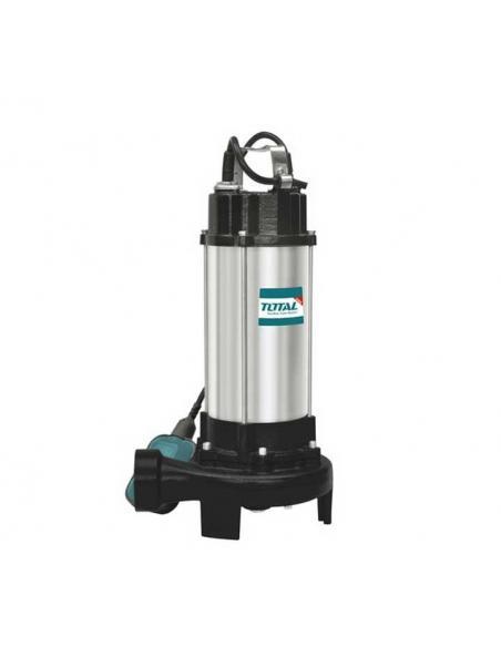 Pompe à eau d'égout submersible 750W - TOTAL