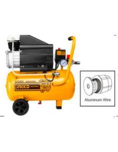 Compresseur d'air 24l, 1.5 kW (2 HP) INGCO
