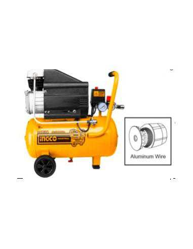 Compresseur d'air 24l, 1.5 kW (2 HP) INGCO