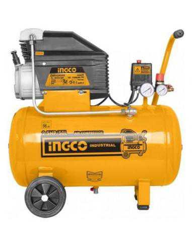 COMPRESSEUR 50L 1,8 KW - INGCO INGCO - OUTILLAGE ELECTROPORTATIF