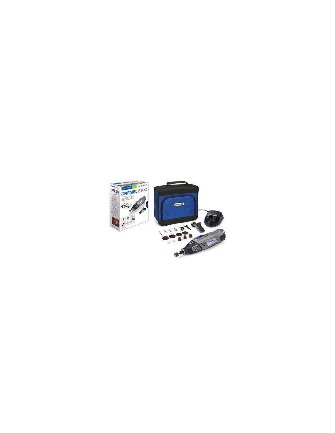 DREMEL MINI PERCEUSE 8100 SANS FIL - 1
