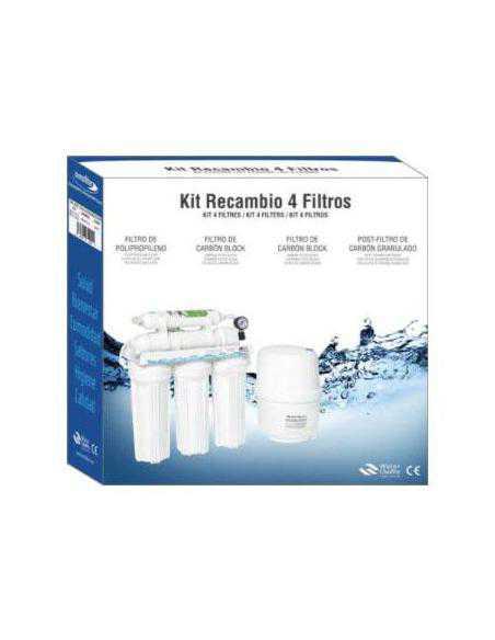 kit de remplacement 4 filtres