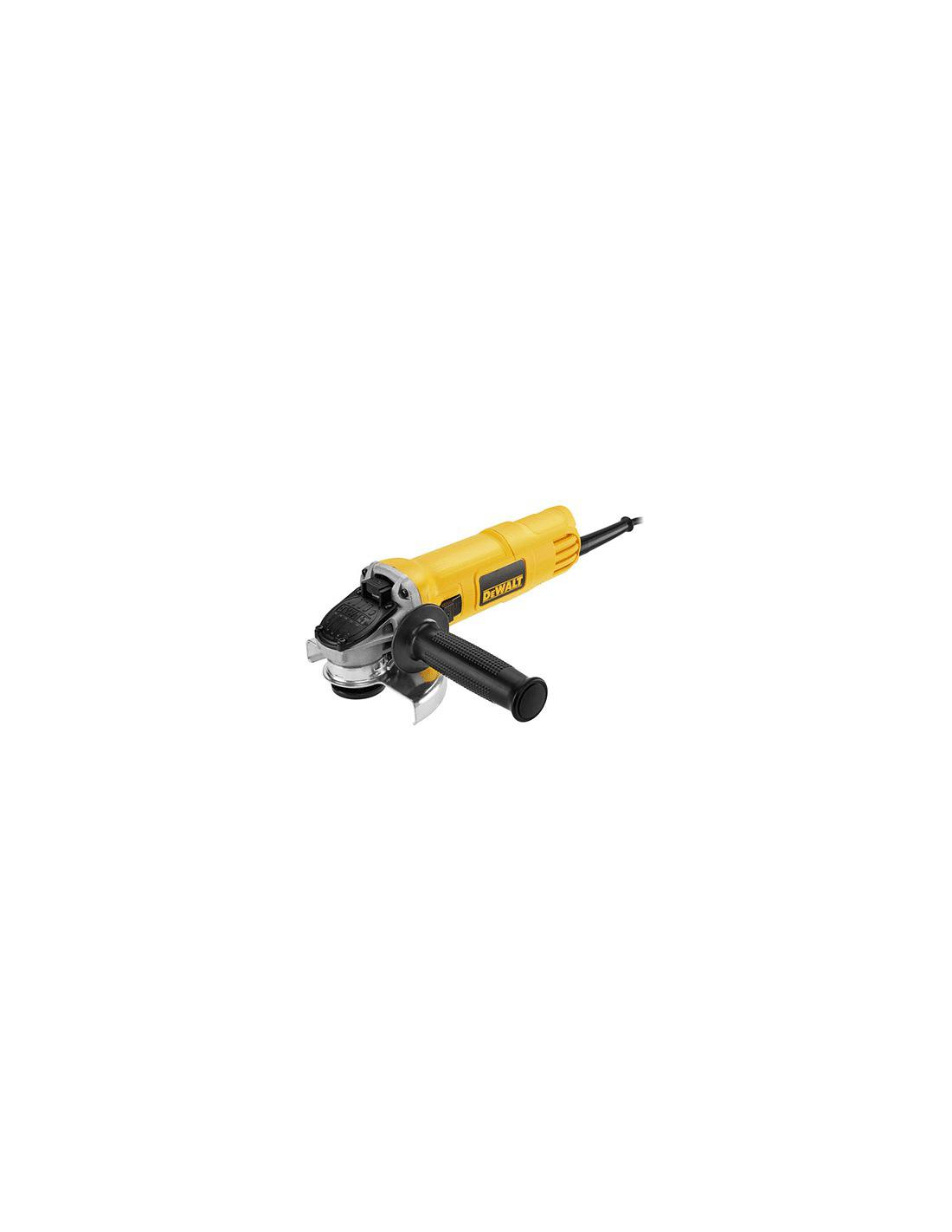Meuleuse Ø 125mm/900W - avec système / anti-redémarrage DEWALT - 1
