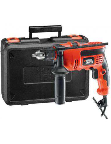 PERCEUSE PERCUSSION 13MM 710W BLACK DECKER - 1